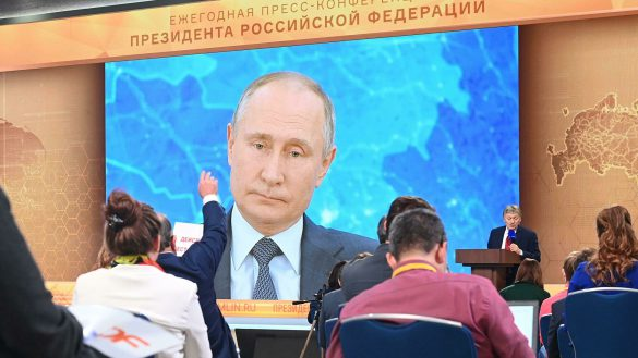Four questions from Konstantin Svitnev to Vladimir Putin went unanswered